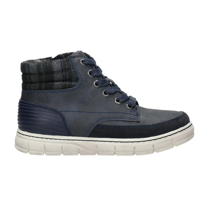 Children's ankle boots na zip mini-b, blue , 311-9611 - 15