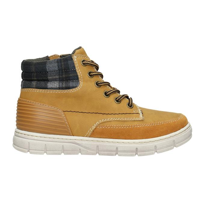 Children's winter boots with distinctive sole mini-b, brown , 311-8611 - 15