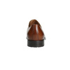 Brown leather Derby shoes bata, brown , 826-3682 - 17