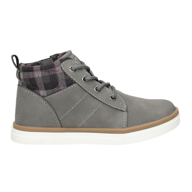 Children's High Top Shoes mini-b, gray , 291-2172 - 26