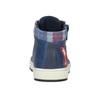 Kids' leather ankle boots bubblegummer, blue , 114-9603 - 16