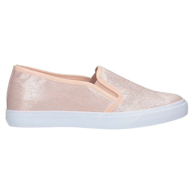 Ladies' Pink Slip-Ons north-star, pink , 511-5605 - 26
