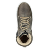 Children's Leather Ankle Boots, gray , 494-8023 - 15