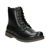 Children's Lace-Up Boots mini-b, black , 391-6407 - 13