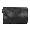 Ladies' Leather Crossbody Handbag a-s-98, black , 964-6044 - 16