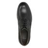 Men's leather Derby shoes bata, black , 824-6926 - 26