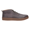 Men's leather ankle boots bata, brown , 846-4652 - 26