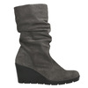Ladies' High Boots with Wrinkling bata, gray , 796-2646 - 15