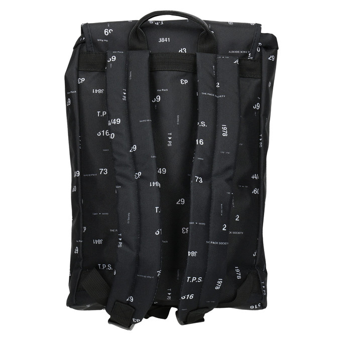 Unisex Backpack with Print, black , 969-6080 - 16