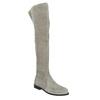 Grey over-knee high boots bata, gray , 593-2605 - 13