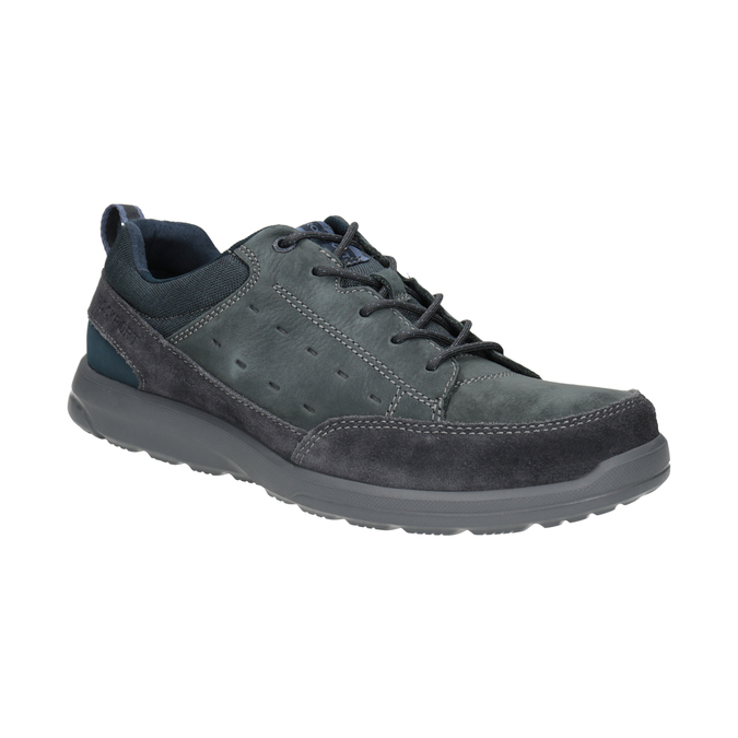 Casual Leather Sneakers rockport, blue , 826-9021 - 13
