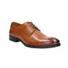 Men's brown Derby shoes bata, brown , 826-3915 - 13