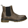 Ladies' leather Chelsea boots bata, brown , 596-7680 - 26