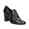 Ladies' pumps with stable heel hogl, black , 724-6055 - 13