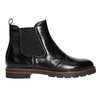 Ladies' leather Chelsea boots bata, black , 596-6657 - 15