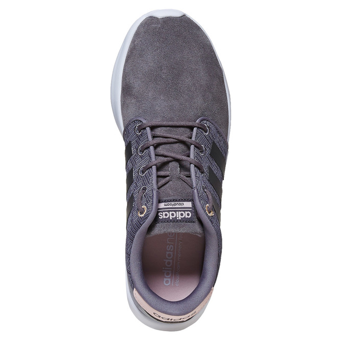 Ladies' leather sneakers adidas, gray , 503-2111 - 19