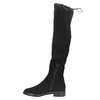 Ladies' high boots bata, black , 599-6616 - 26