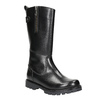 Girls' Leather High Boots mini-b, black , 394-6192 - 13