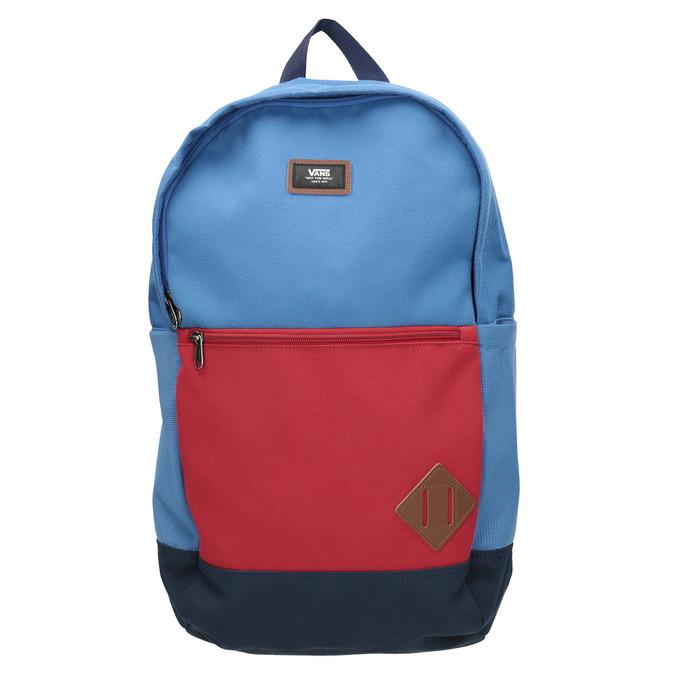 Blue Backpack with Red Pocket vans, blue , 969-9095 - 26