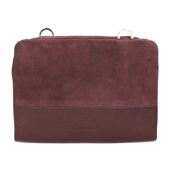 Red Leather Crossbody Handbag royal-republiq, red , 963-5050 - 26