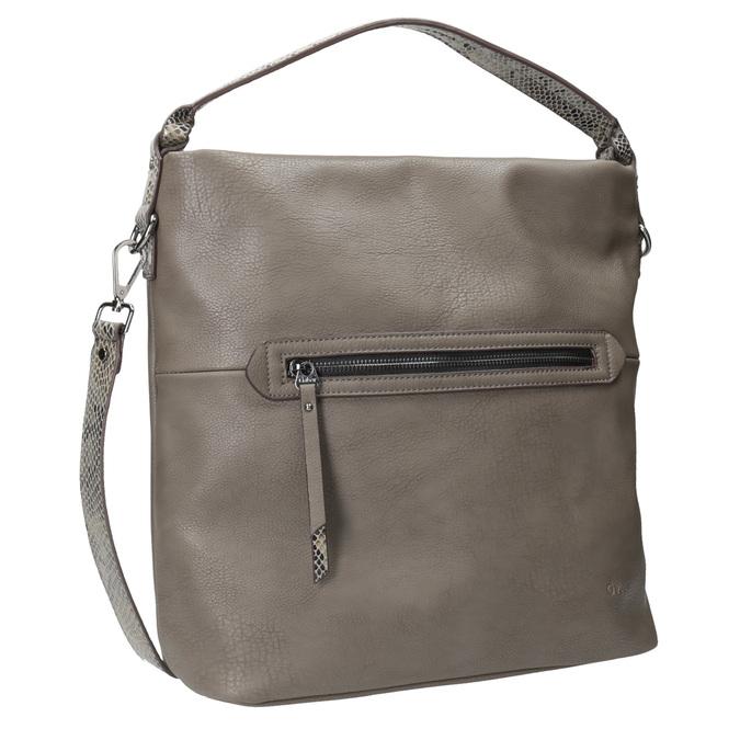 Ladies' Hobo Handbag with Strap gabor-bags, brown , 961-8029 - 13