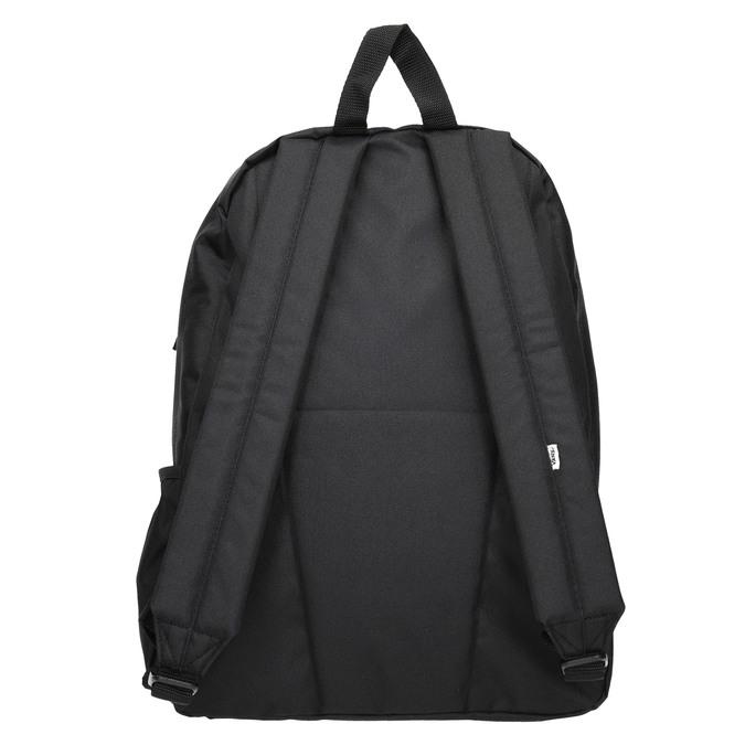 Black Backpack with Logo vans, black , 969-6078 - 16