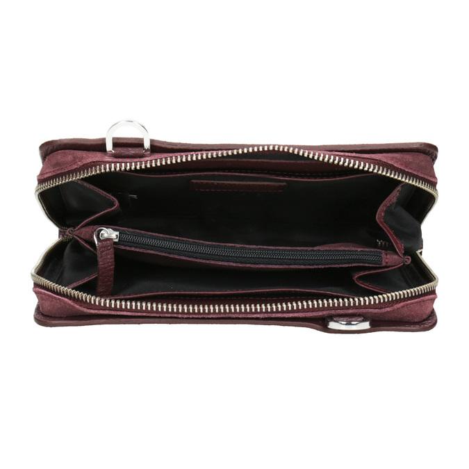 Red Leather Crossbody Handbag royal-republiq, red , 963-5050 - 15