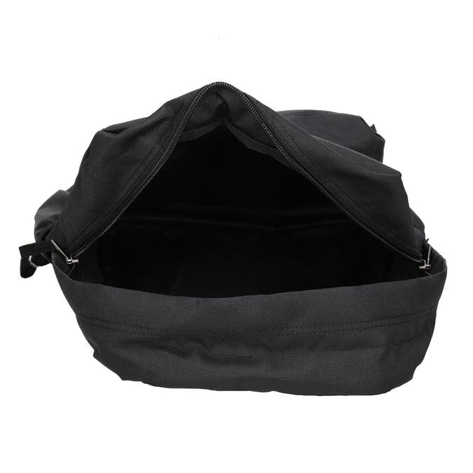 Black Backpack with Logo vans, black , 969-6078 - 15