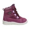 Children's Leather Winter Boots bubblegummer, violet , 196-5600 - 15