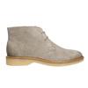 Ladies' Leather Chukka Boots bata, gray , 593-2608 - 15