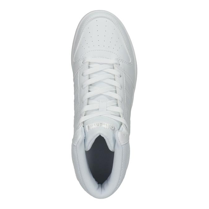 White High-Top Sneakers adidas, white , 501-1212 - 15