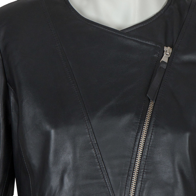 Ladies' Leather Jacket, black , 974-6177 - 16