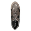 Sneakers with Glitter geox, brown , 621-8045 - 15