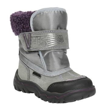 Girls' Winter Boots with Fleece bubblegummer, gray , 193-2601 - 13