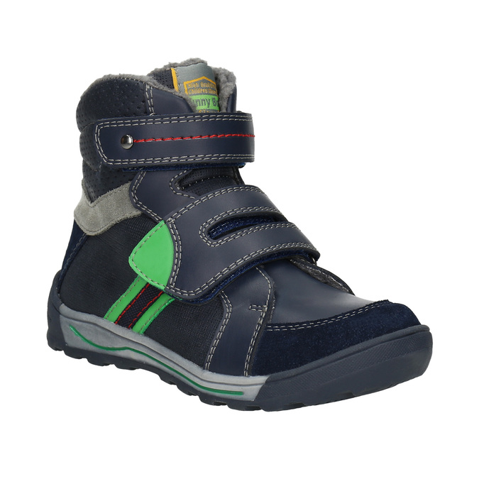 Children's Winter Ankle Boots mini-b, blue , 291-9627 - 13
