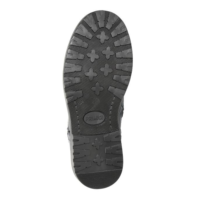 Children's Leather Ankle Boots primigi, blue , 228-9001 - 17