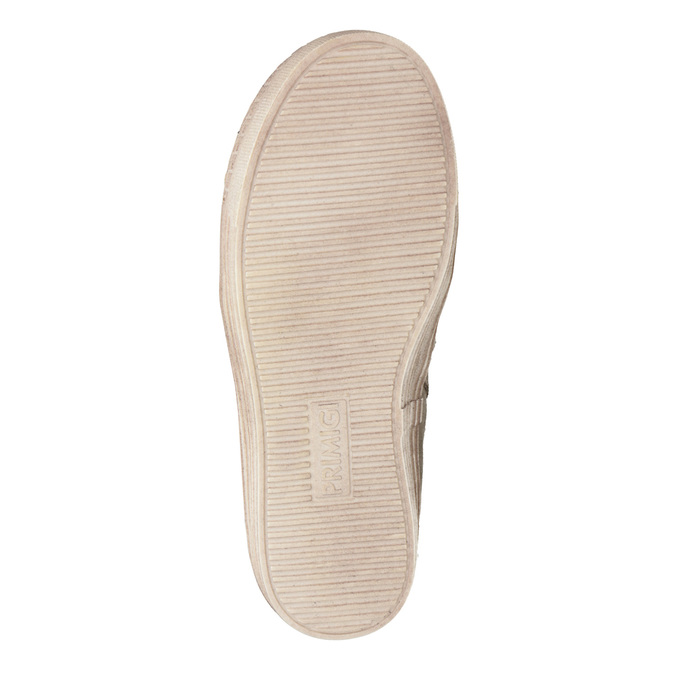 Children's winter boots with fur primigi, beige , 393-8015 - 17
