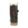 Ladies' winter boots with fur weinbrenner, gray , 594-2455 - 16