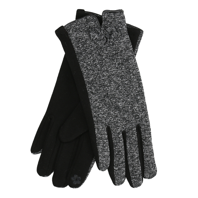 Ladies' Gloves with Bow, black , 909-6615 - 13