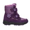 Girls' Purple Snow Boots mini-b, violet , 291-9625 - 15