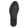 Ladies' Wellington Boots with Quilting bata, black , 592-6401 - 19
