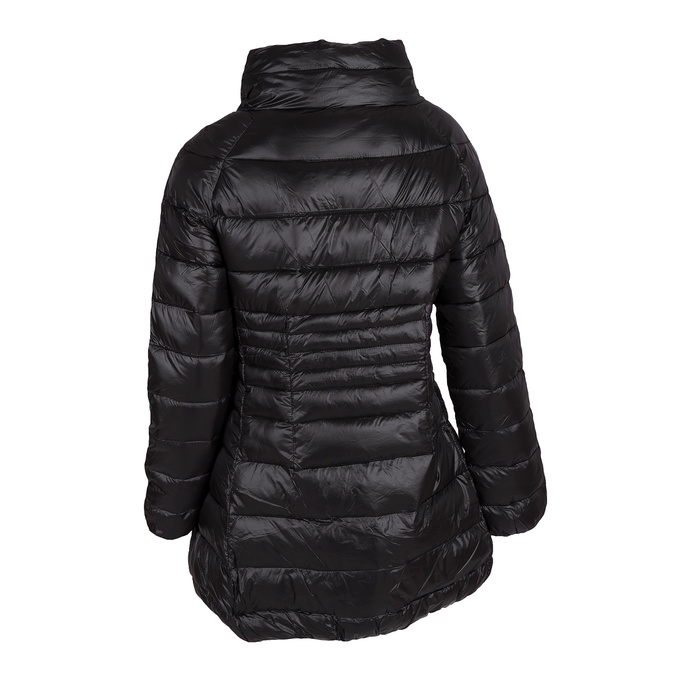 Ladies' quilted jacket bata, black , 979-6166 - 26