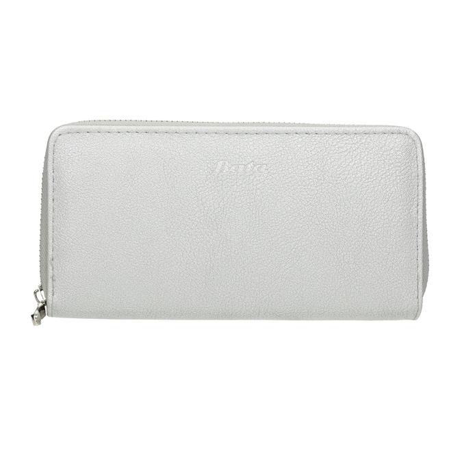 Silver Ladies' Wallet bata, silver , 941-2155 - 26