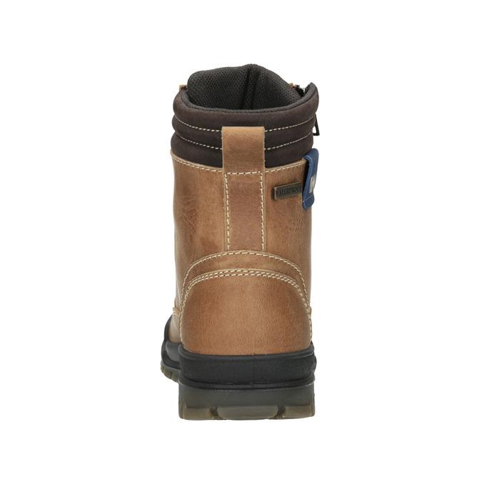Children's Winter Ankle Boots weinbrenner-junior, brown , 496-8611 - 16