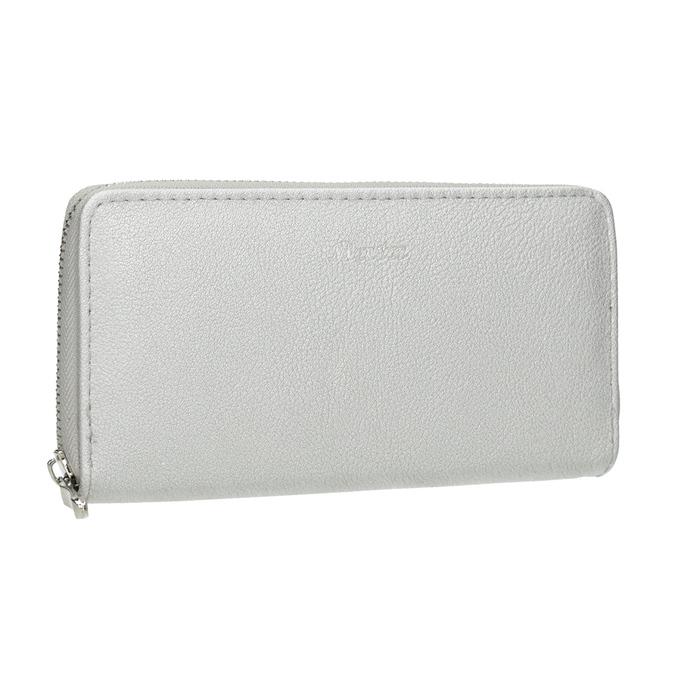Silver Ladies' Wallet bata, silver , 941-2155 - 13