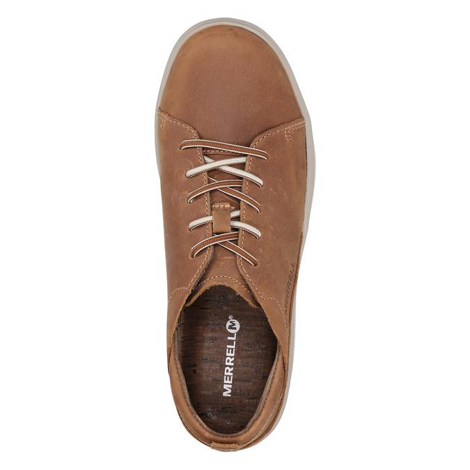 Ladies' leather sneakers merrell, brown , 506-4702 - 15
