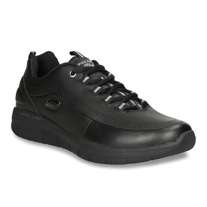 Ladies' black sneakers, black , 501-6317 - 13