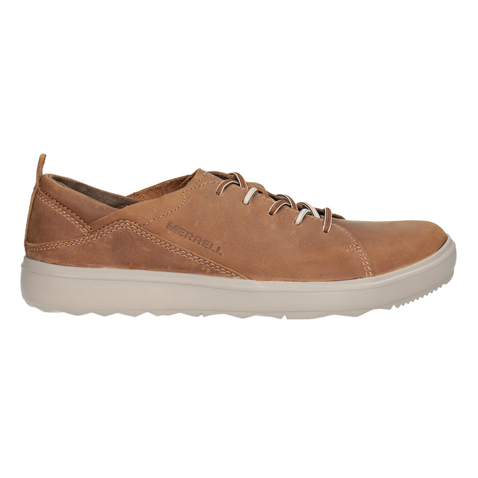 Ladies' leather sneakers merrell, brown , 506-4702 - 26