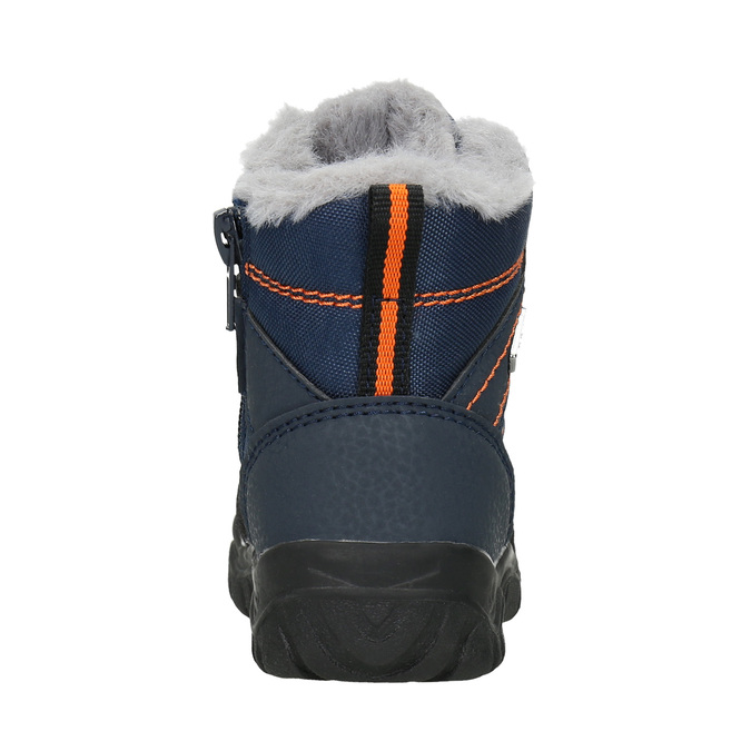 Children's Winter Boots with Fleece bubblegummer, blue , 199-9603 - 16