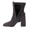 Leather Ankle Boots, gray , 793-2032 - 15
